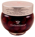 GRIOTTINES, PITTED SOUR CHERRIES IN KIRSCH, FRANCE, 35 CL
