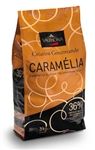 34 % CARAMELIA MILK CHOCOLATE INFUSED WITH CARAMEL, VALRHONA, 3 KG FEVES