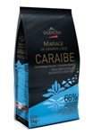 66% CARAIBE, CARRIBEAN ISLANDS, VALRHONA, 3 KG FEVES ORIGNAL PACKAGING
